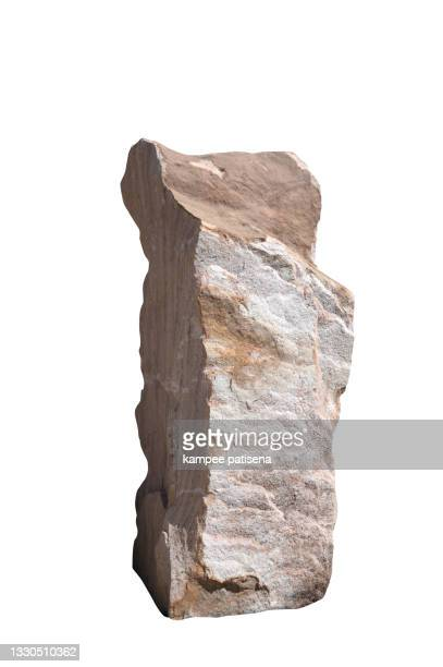 natural stone isolated on white background - biggest stock pictures, royalty-free photos & images