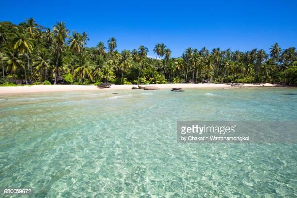 Natural Swimming Pool - Quiet White Sand Beach (Koh Kood)