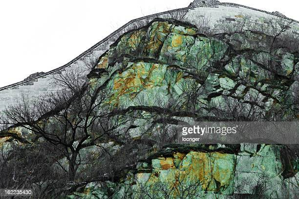 natural texture of the mountain