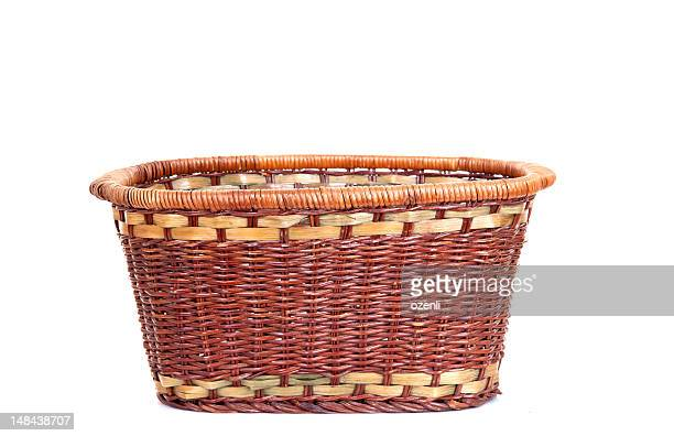 natural wickerwork basket