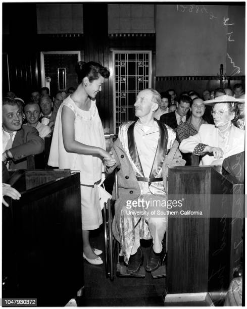 Naturalization 18 July 1958 Judy Dan Woo Frank H Halstead Supplementary material reads 'Mitchell Hick ConeyJuly 18 1958 Naturalization 4546 Left to...
