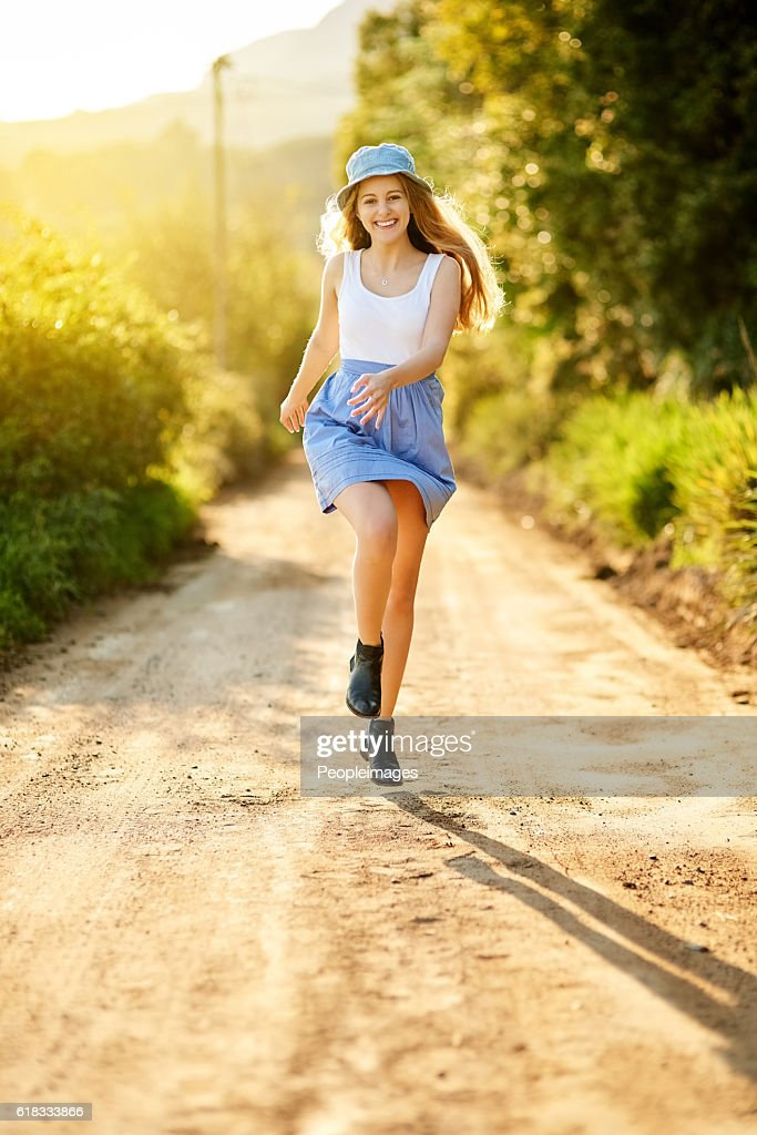 Nature improves your vitality : Stock Photo