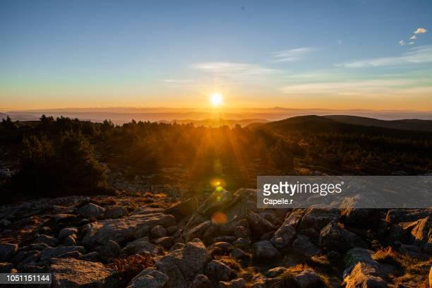 Nature - Lever de soleil sur les Cévennes