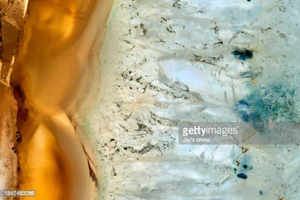 nature pattern crystal shot for background. - tracery stock pictures, royalty-free photos & images