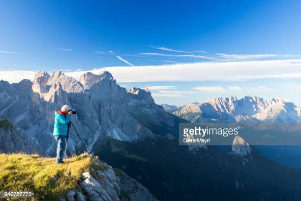 ・ ラテマール山群/カティナッチオ南チロル アルプスの自然写真家