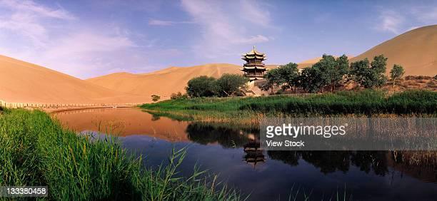 Nature scene in Dunhuang,Gansu,China