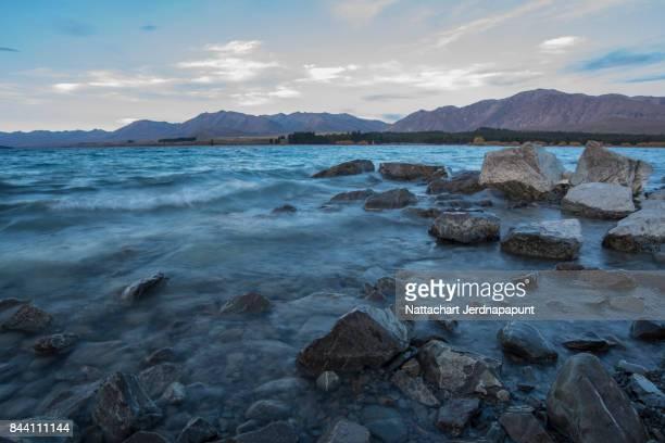 Nature scene of Lake Tekapo