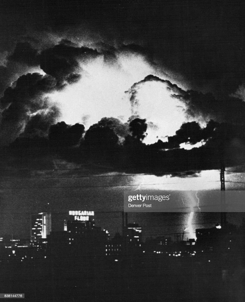 Denver News Cyclone: Nature's Fireworks Explode Over Denver An Electrical Storm