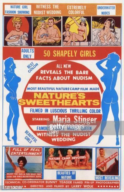 Nature's Sweethearts lobbycard US poster Maria Stinger 1963