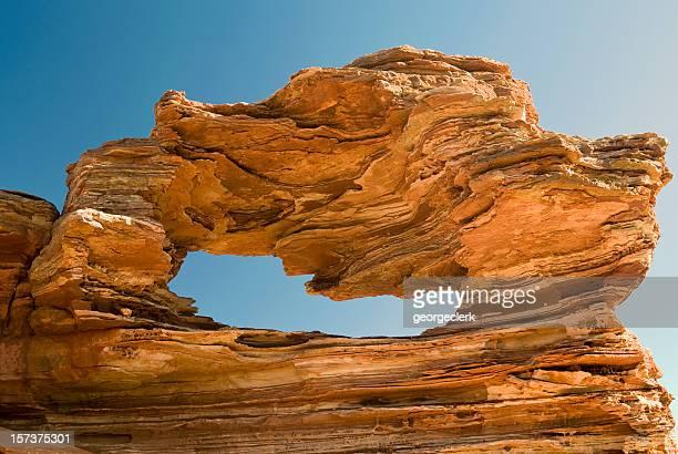 Formazione rocciosa Nature's Window roccia naturale formazione, Australia occidentale