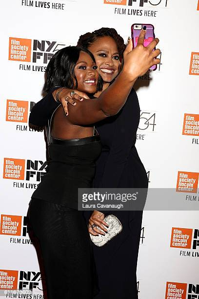 Naturi Naughton and Ava Duvernay attend 54th New York Film Festival Opening Night Gala Presentation and 13th World Premiere at Alice Tully Hall at...