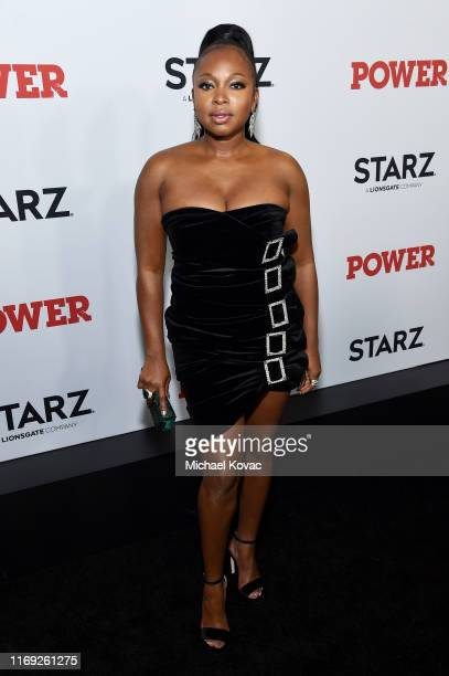 Naturi Naughton at STARZ Madison Square Garden Power Season 6 Red Carpet Premiere Concert and Party on August 20 2019 in New York City