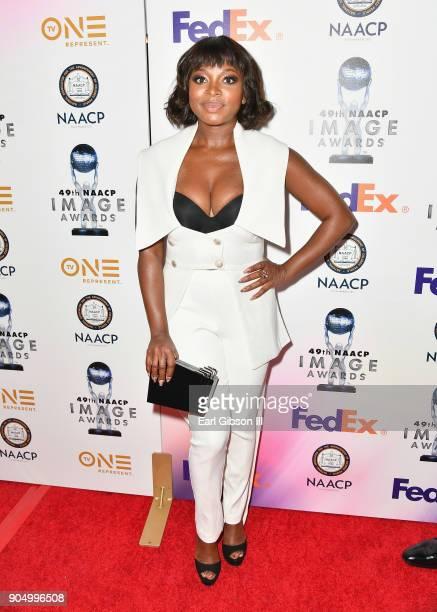 Naturi Naughton at the 49th NAACP Image Awards NonTelevised Awards Dinner at the Pasadena Conference Center on January 14 2018 in Pasadena California