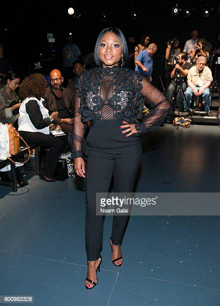 Naturi Naughton attends Harlem's Fashion Row fashion show during New York Fashion Week September 2016 at Pier 59 Studios on September 8 2016 in New...