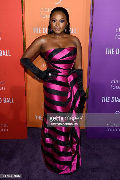 Naturi Naughton attends Rihanna's 5th Annual Diamond Ball Benefitting The Clara Lionel Foundation at Cipriani Wall Street on September 12 2019 in New...