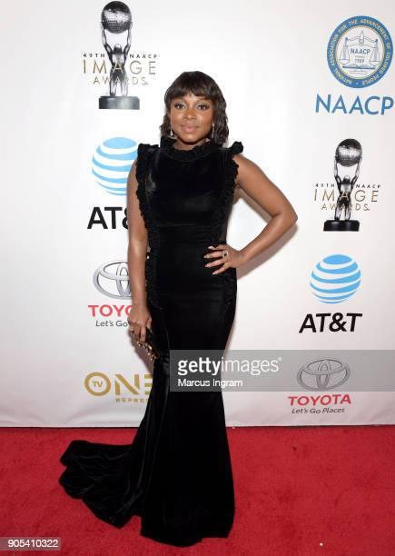 Naturi Naughton attends the 49th NAACP Image Awards at Pasadena Civic Auditorium on January 15 2018 in Pasadena California
