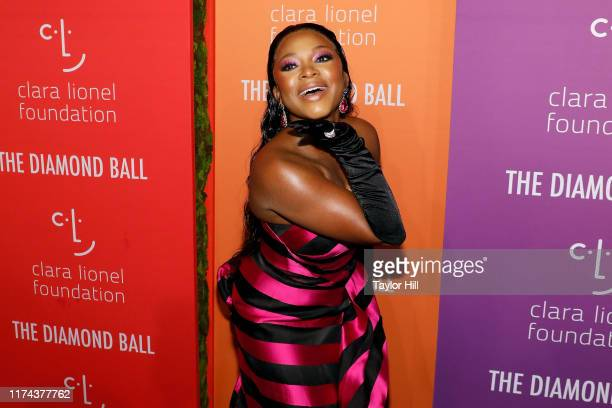 Naturi Naughton attends the 5th Annual Diamond Ball benefiting the Clara Lionel Foundation at Cipriani Wall Street on September 12 2019 in New York...