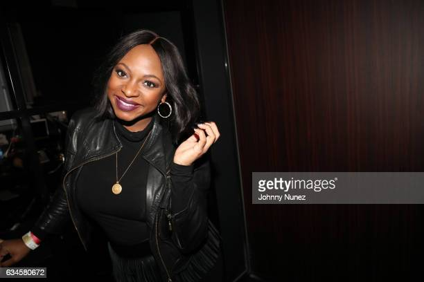 Naturi Naughton attends the Annual PreGrammy Reception hosted by Ted Reid at STK on February 9 2017 in Los Angeles California