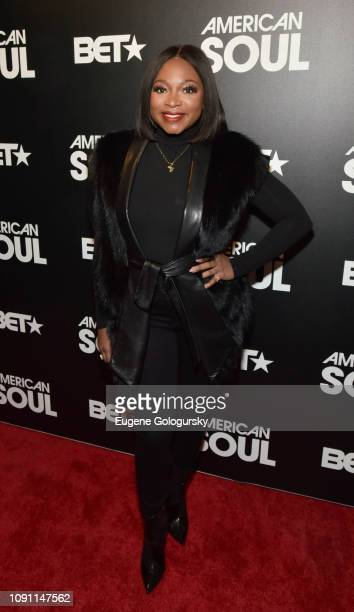 Naturi Naughton attends the BET American Soul NYC Screening Event on January 28 2019 in New York City