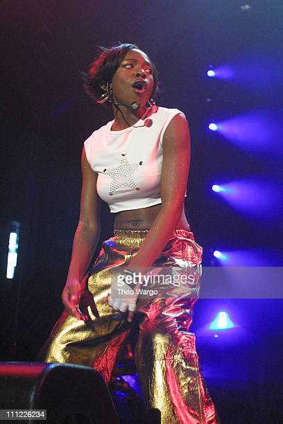 Naturi Naughton of '3LW' during Opening of MTV's TRL Tour at Pepsi Arena July 18 2001 at Pepsi Arena in Albany New York United States