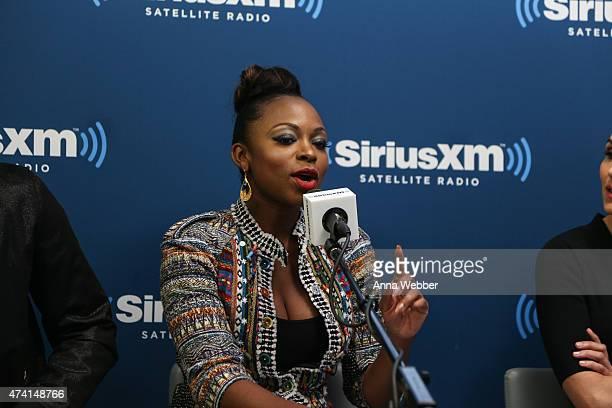 Naturi Naughton visits SiriusXM Urban View with Karen Hunter at SiriusXM Studios on May 20 2015 in New York City