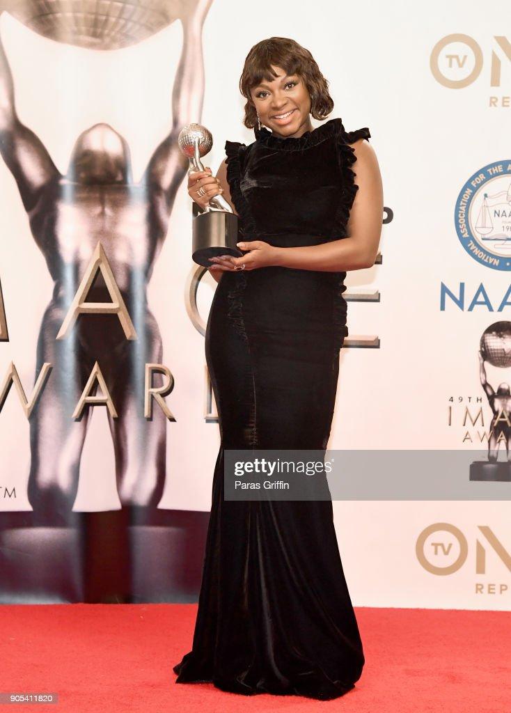 49th NAACP Image Awards - Press Room