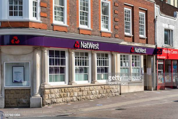 NatWest bank in Orpington, London.