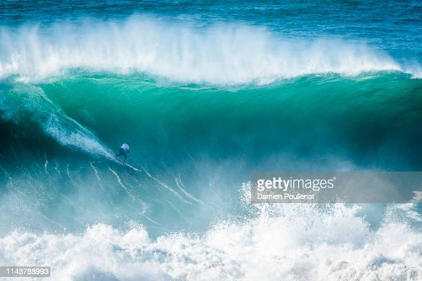Natxo Gonzalez placed 2nd in SemiFinal 2 at the Nazaré Challenge 2018 despite a perfetct 10