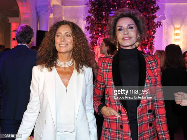 Naty Abascal and Belinda Alonso during Charlotte Tilbury's Party on October 29 2018 in Madrid Spain