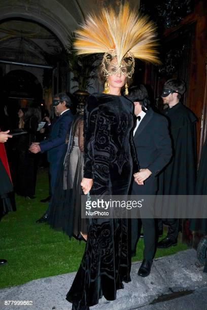 Naty Abascal attends party Dior Ball at the Santona Palace November 22 2017 in Madrid Spain