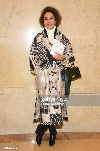 Naty Abascal attends the Elie Saab Haute Couture Spring Summer 2019 show as part of Paris Fashion Week on January 23 2019 in Paris France