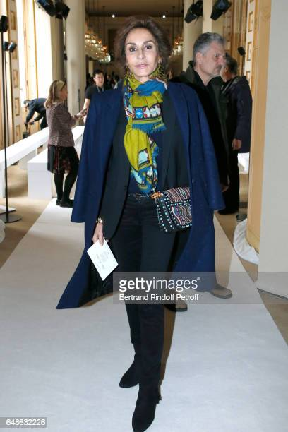 Naty Abascal attends the Giambattista Valli show as part of the Paris Fashion Week Womenswear Fall/Winter 2017/2018 on March 6 2017 in Paris France