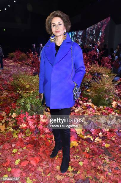 Naty Abascal attends the Moncler Gamme Rouge show as part of the Paris Fashion Week Womenswear Fall/Winter 2017/2018 on March 7 2017 in Paris France