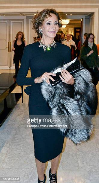 Naty Abascal attends the presentation of the style book '100% Naty' at Villamagna Hotel on November 26 2013 in Madrid Spain