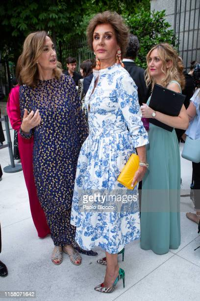 Naty Abascal is seen arriving at 'Yo Dona' International Awards 2019 at ThyssenBornemisza Museum on June 24 2019 in Madrid Spain