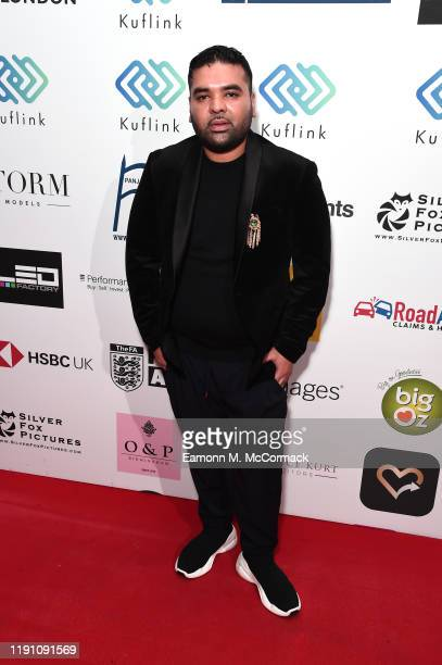 Naughty Boy attends the Brit Asia TV Music Awards 2019 at SSE Arena Wembley on November 30 2019 in London England