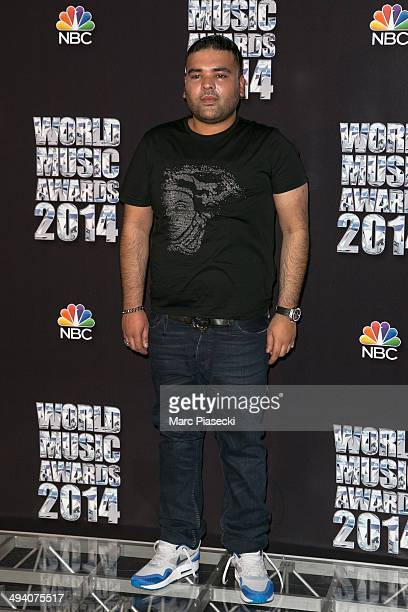 Naughty Boy poses in the Press Room during the Sporting MonteCarlo on May 27 2014 in MonteCarlo Monaco