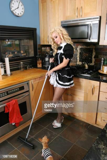 Naughty French Maid