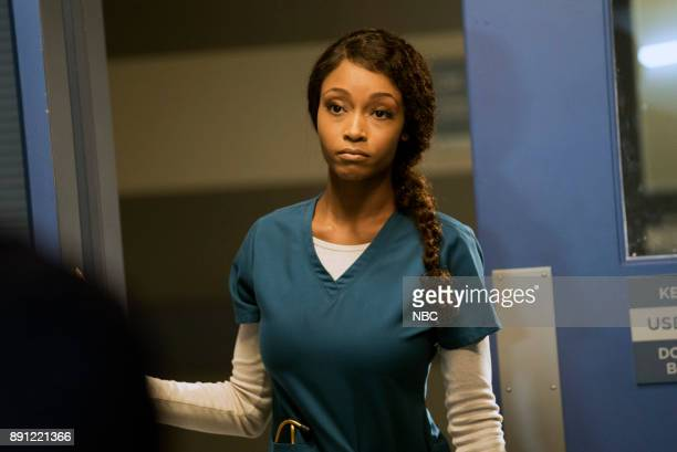 MED 'Naughty or Nice' Episode 304 Pictured Yaya DaCosta as April Sexton