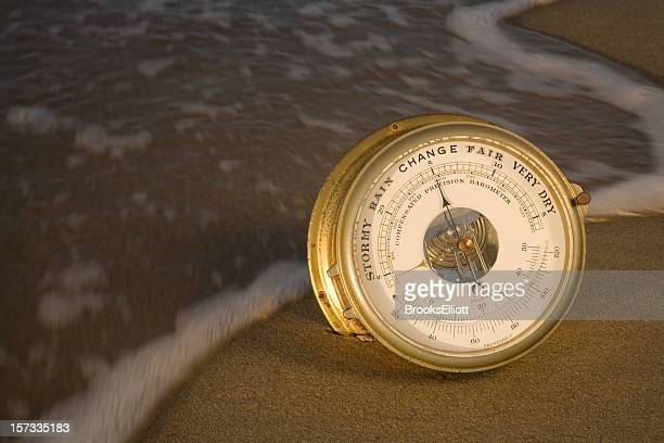 Nautical Barometer at Change