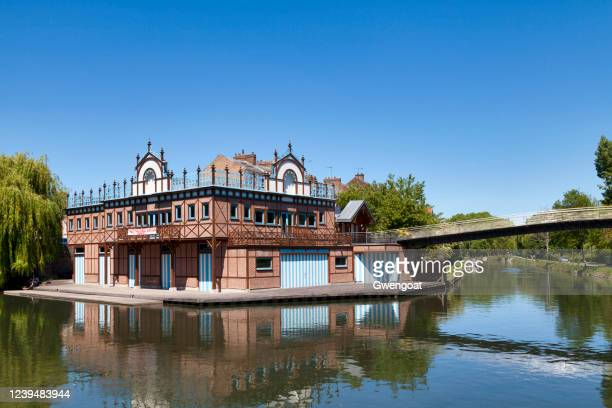 nautical center of amiens - gwengoat stock pictures, royalty-free photos & images