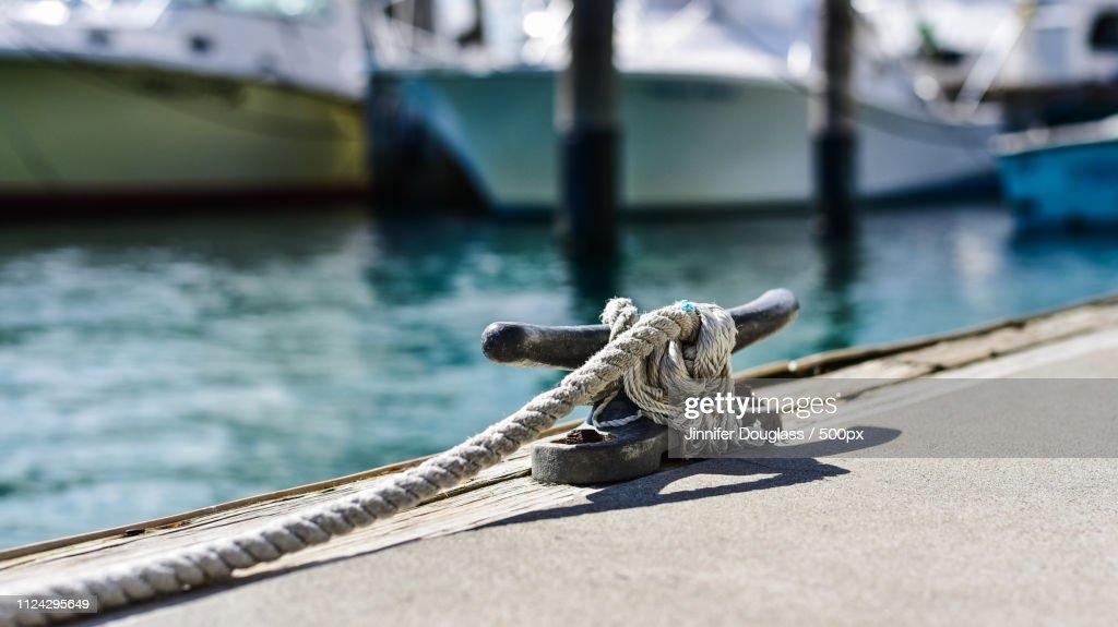 Nautical Rope By Jinnifer Douglass : Stock Photo