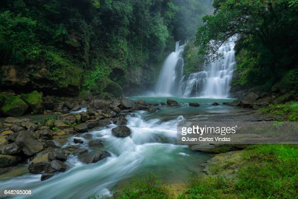 nauyaca falls - central america stock pictures, royalty-free photos & images