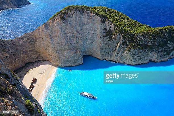 Navagio Strand, Insel Zakynthos, Griechenland
