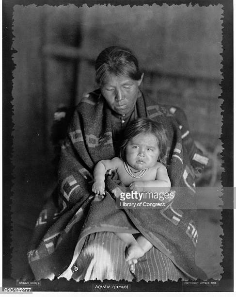 Navaho Mother and Child