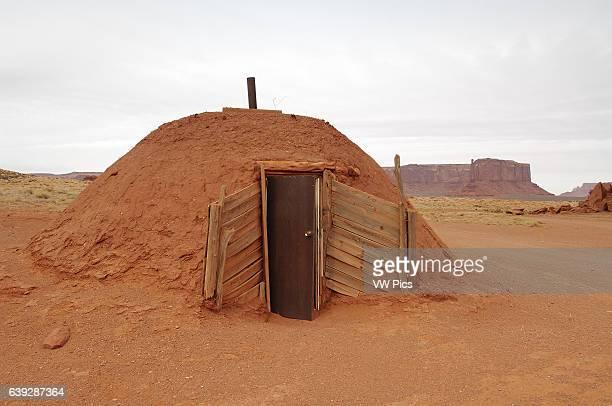 Navajo Dine Female Hogan Monument Valley Navajo Tribal Park Navajo Nation Reservation Utah/Arizona Border