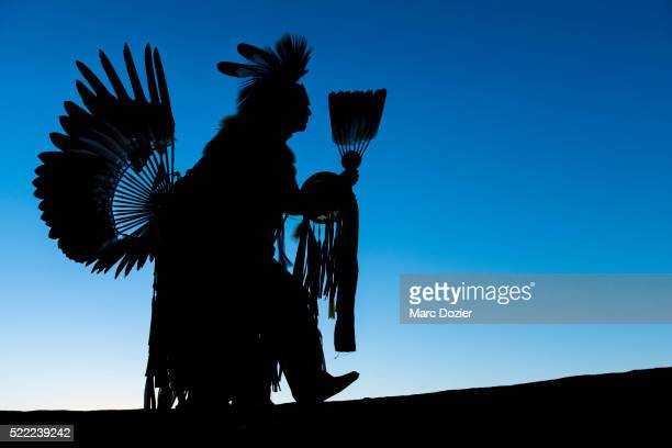 navajo man wearing traditional clothes - navajo culture stock pictures, royalty-free photos & images