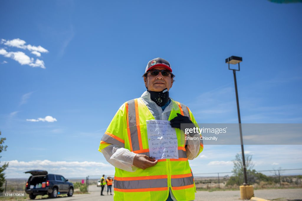 Coronavirus Hits Navajo Nation Reservations  Disproportionately Hard : News Photo