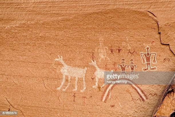 Navajo pictographs