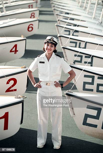 S Naval Academy Annapolis MarylandPHOTOGRAPHERMARVIN JOSEPH/TWPCAPTIONA photograph of graduating Midshipman Alpa Patel who is going to be a surface...